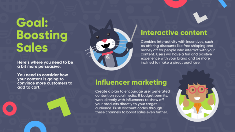 Christmas marketing ideas infographic: how to increase sales