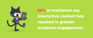 Christmas Marketing Ideas: Interactive Content Statistic