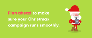 Text Image with Advice for Christmas Audience Research