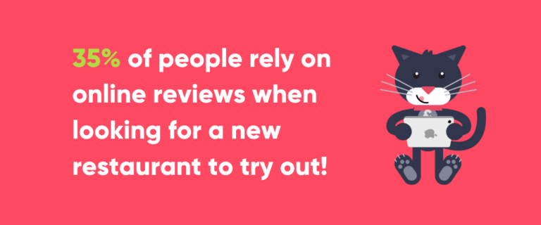 Statistic about Online Reviews to Help with Restaurant Marketing