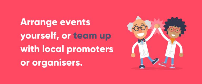 Advice on using events as a bar promotion idea