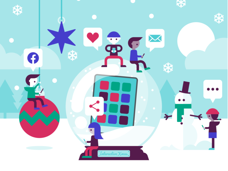 Christmas Interactive Posts Feature