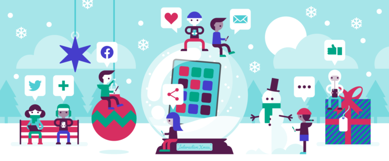 Christmas Interactive Posts - Ideas and Examples