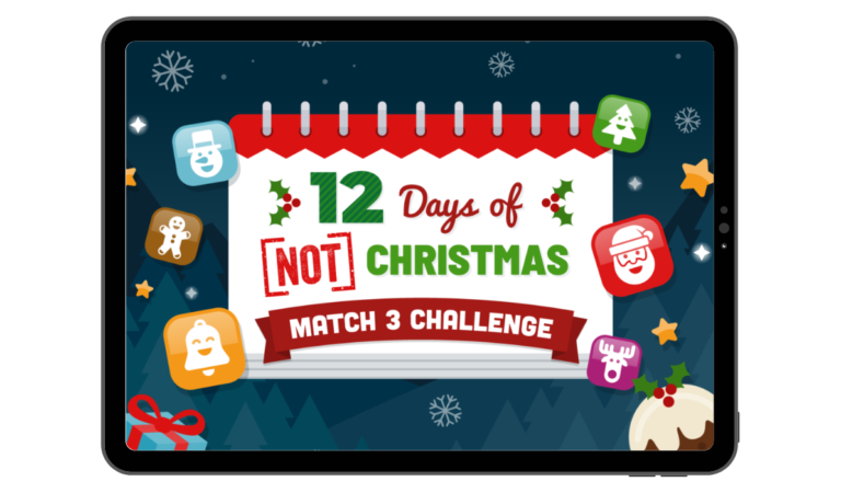 12 Days of Not Christmas Social Media Game