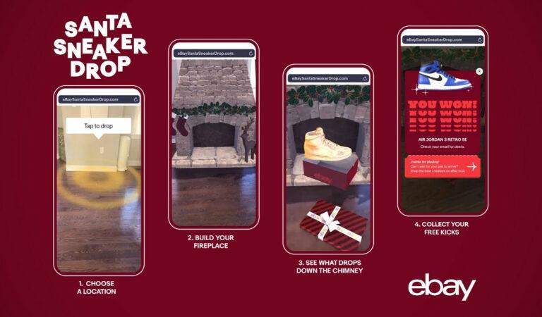 Ebay AR Santa Sneaker Drop