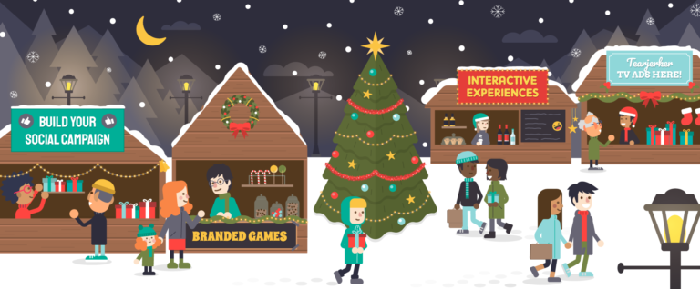 Christmas Advertising Campaigns and Marketing Examples Blog Header