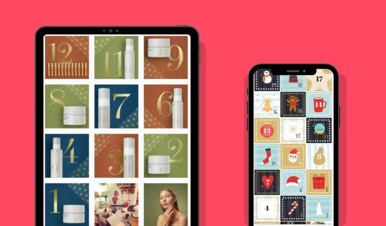 Examples of Social Media Advent Calendar Format on Social Media