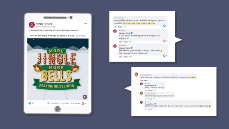 Hungry Horse Social Media Comments